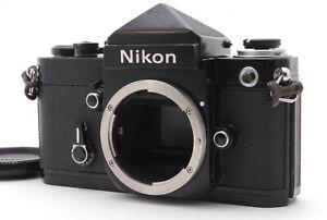 😊 OVERHAULED Nikon F2 Eye Level DE-1 Black Body Only, Body Cap from Japan