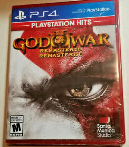God of War III: Remastered (PlayStation 4, 2019) PS4 Brand New Sealed