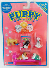 1994 VTG PUPPY IN MY POCKET PUPPIES AT HOME HASBRO BRAND NEW MOC MOSC