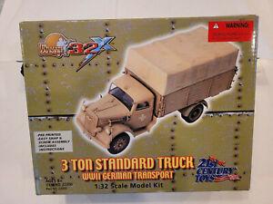 21st Century Toys 3 Ton Standard Truck 1/32 Scale Model Kit No. 22200 Built