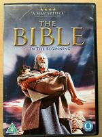 The Bible... In the Beginning DVD 1966 Religious Biblical Epic Classic