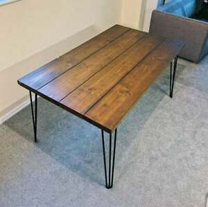 Wooden coffee table used once