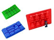 silikorform LEGO Silicona 3d fondant chocolate Cubos de hielo bombones