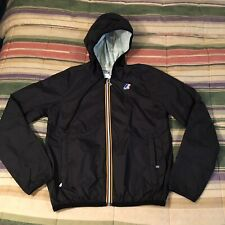 4298db75f64 K-WAY hooded Full Zip Windbreaker Jacket MEDIUM
