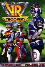 VR Troopers: Season Two, Vol. 1 [3 Discs] (2013, REGION 1 DVD New)