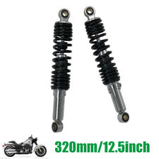 """Pair 320MM 12.5"""" Motorcycle Scooter Rear Shock Absorbers For Yamaha Honda Part"""