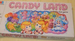 Milton Bradley CANDYLAND Board Game Vintage 1984