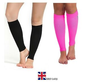 CALF COMPRESSION SLEEVES Support Sleeve Shin Splints Muscle Injury Guards Tights