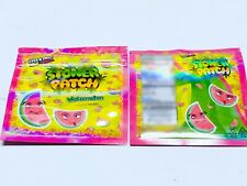 50 bags Watermelon Stone Patch bags Empty cookies Packaging zip lock bags