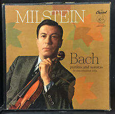 Nathan Milstein Bach Partitas And Sonatas For Unaccompanied Violin 3 Lp VG+ US
