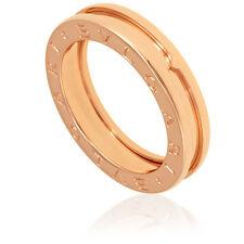 Bvlgari B.Zero1 18k Rose Gold 1-Band Ring AN852422