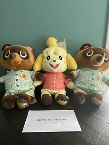 Animal Crossing: New Horizons Build A Bear Tom Nook Isabelle Theme Phrases Lot 3