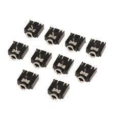 10pcs 3.5mm Jack Female Socket 3pin PCB Mount Audio Headphone Connector
