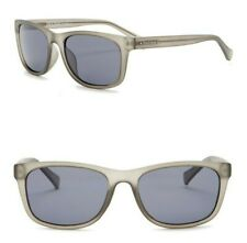 6ab1d2fa1c45 Cole Haan CH6013 Polarized 55mm Rectangle Sunglasses Matte Crystal Grey