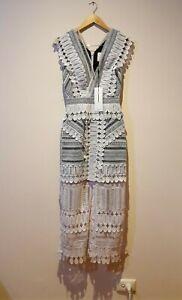 Acler Harvey Dress Ivory Womens Size 6 AU 2 US RRP $450