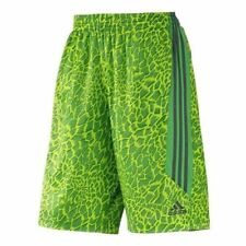 M adidas All World Shorts F81653 Volt Green Crazy Light Harden Rose Basketball