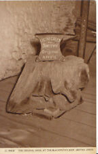 Scotland Postcard - Original Anvil At the Blacksmiths Shop - Gretna - Ref ZZ5231