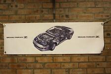 nissan 300 zx fairlady colour large pvc  WORK SHOP BANNER garage  SHOW BANNER