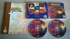 THE CURSE OF MONKEY ISLAND - 1997 PC GAME - ORIGINAL JC EDITION WITH MANUAL