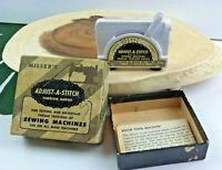 "Miller's Vintage Adjust-A-Stitch Tension Gauge ""Sewing Machines"""