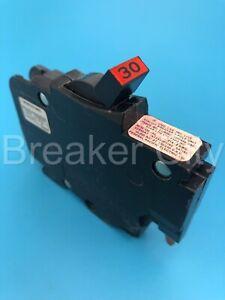 "Federal Pacific 30 Amp 1 Pole Stab-Lok Type NC NC130 ""Thin"" FPE Circuit Breaker"