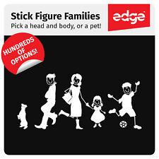MY CAR STICK FAMILY Car Sticker Custom Vinyl Decal Window Bumper Van