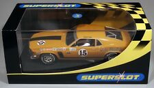 Scalextric C2436 Ford Mustang Boss 302 1970 Parnelli Jones slot car 1/32 boxed