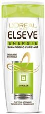 L`OREAL ELSEVE ENERGIE SHAMPOOING PURIFIANT FOR NORMAL HAIR 400 ML **BRAND NEW**