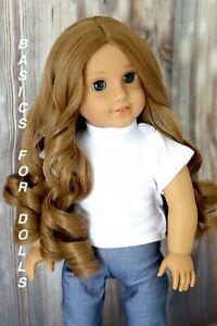 2x American Girl Doll Truly Me Brown Hair Wig /& Blonde Hair Wigs Accessories