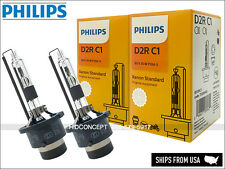 PHILIPS D2R OEM 4300K 85126C1 HID Bulbs in Retail Boxes w/COA(Pack of 2)
