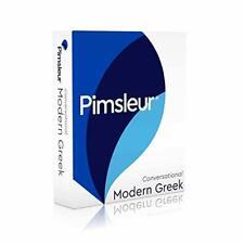 Pimsleur: Conversational Modern Greek (NEW)