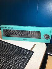 Logitech Wireless Keyboard and Mouse Combo Open Box New