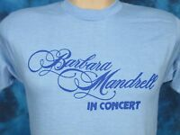 NOS vtg 80s BARBARA MANDRELL CONCERT PAPER THIN T-Shirt XS/SMALL country tour