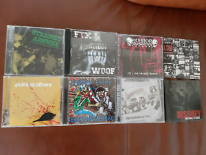 CD-Paket, 8 Stück CD, Hardcore, HC, Old School Hardcore, Trashcore