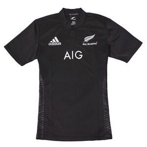 New Zealand All Blacks Men's Home Rugby Jersey Tight Fit