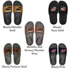 New Women's Nike Benassi JDI Slides Sandals Casual Beach Various Styles
