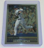 2000 Topps Chrome Derek Jeter #15 NBA New York Yankees Baseball Card MLB HOF