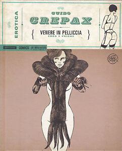 CREPAX : collana EROTICA n°  1 - Venere in pelliccia - ed. Mondadori SCONTO 50%