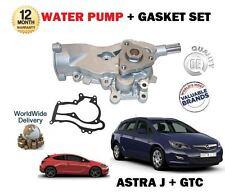Per Vauxhall Astra J mk6 + GTC 1.2 1.4 Turbo 2009 -- > NUOVA POMPA ACQUA + GUARNIZIONE