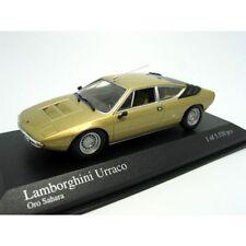 Lamborghini Urraco, Gold 1974 Road Cars, Minichamps 400103320  Diecast  1/43