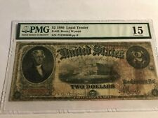 FR. 52 1880 $2 TWO DOLLARS LEGAL TENDER UNITED STATES NOTE PMG 15