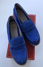 Women's New Johnston Murphy Blue Suede Shoes