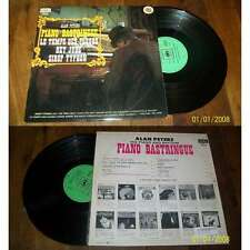 ALAN PETERS - Piano Bastringue Rare French LP Jazz Pop Beatles Label Maxi BIEM