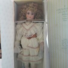 Nancy porcelain doll by Pamela Phillips. Seymour Mann Connoisseur Collection