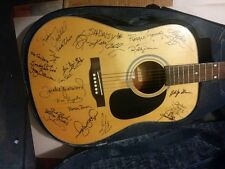 Autographed Guitar Dozens of Country Greats! Shaver Yearwood Crowell Crickets