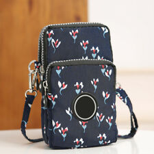 UK Cross-body Mobile Phone Shoulder Bag Pouch Case Belt Handbag Purse Wallet New