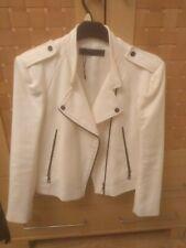 Ladies Zara Biker Style Jacket Size L (12 -16)