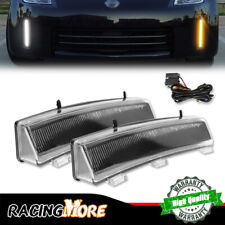 Amber/White Car LED DRL Lights w/Turning Signal Lamp For 2006-2009 Nissan 350Z