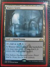 MTG Magic the Gathering Watery Grave Guilds of Ravnica x1 See Photos