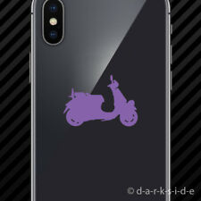 (2x) Vespa GTV / LXV Cell Phone Sticker Mobile scooter moped